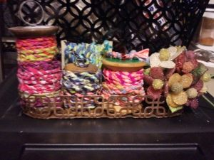 Spools of Fabric Twine