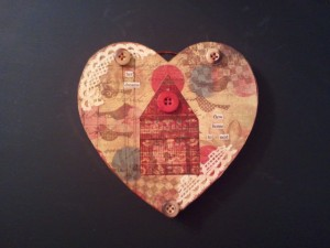 Home & heart plaque