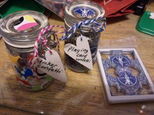 Confetti Jars